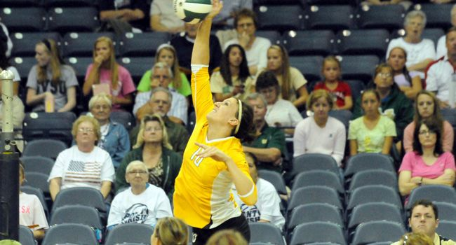 Valpo Downs Wright State in Sweep Friday