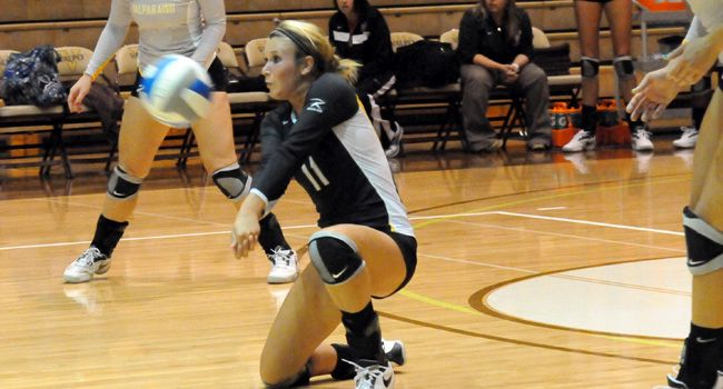Valpo Volleyball Gears Up For Three HL Matches