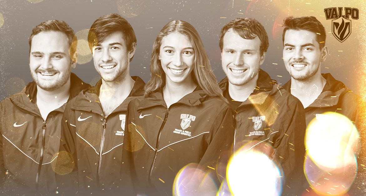 Five Valpo Track & Field Athletes Receive Scholar-Athlete Recognition