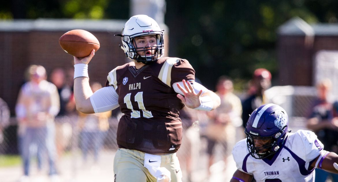 Valpo Football Opens Home Slate with Setback