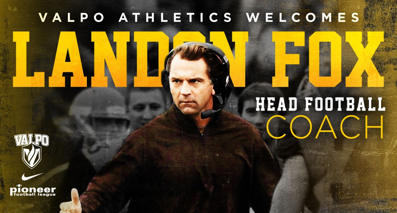 Landon Fox Hired to Lead Valpo Football Program