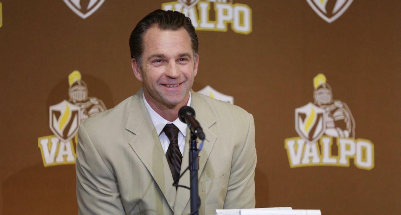 Valpo Football Media Day: Coach Fox