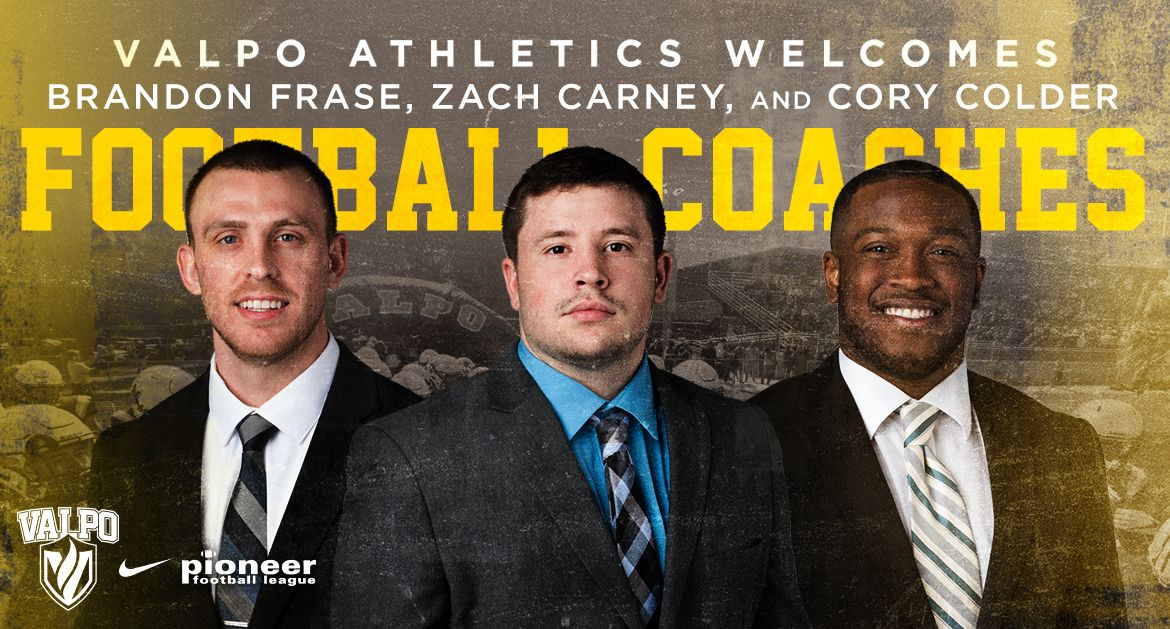 Valpo Football Completes Coaching Staff with Three Additions