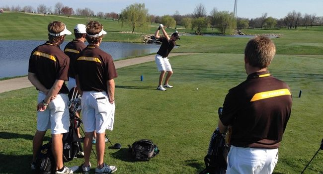 Men's Golf Seventh After Day One at Kentucky