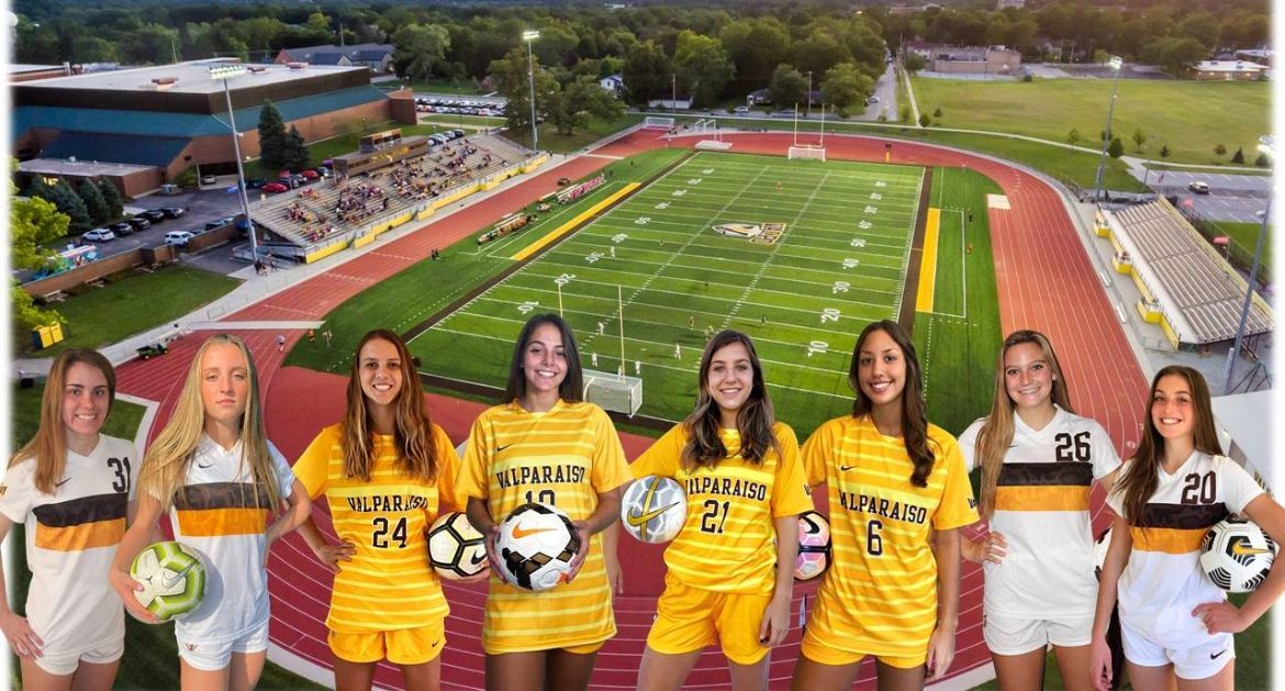 Valpo Women's Soccer Signs Eight Newcomers