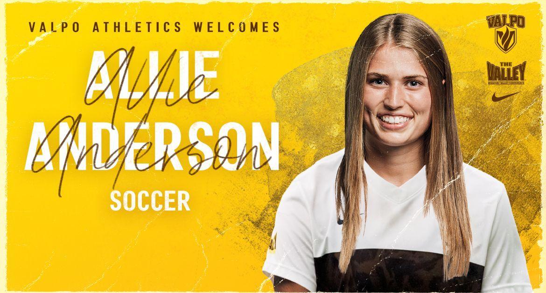 Allie Anderson Joins Valpo Soccer Program
