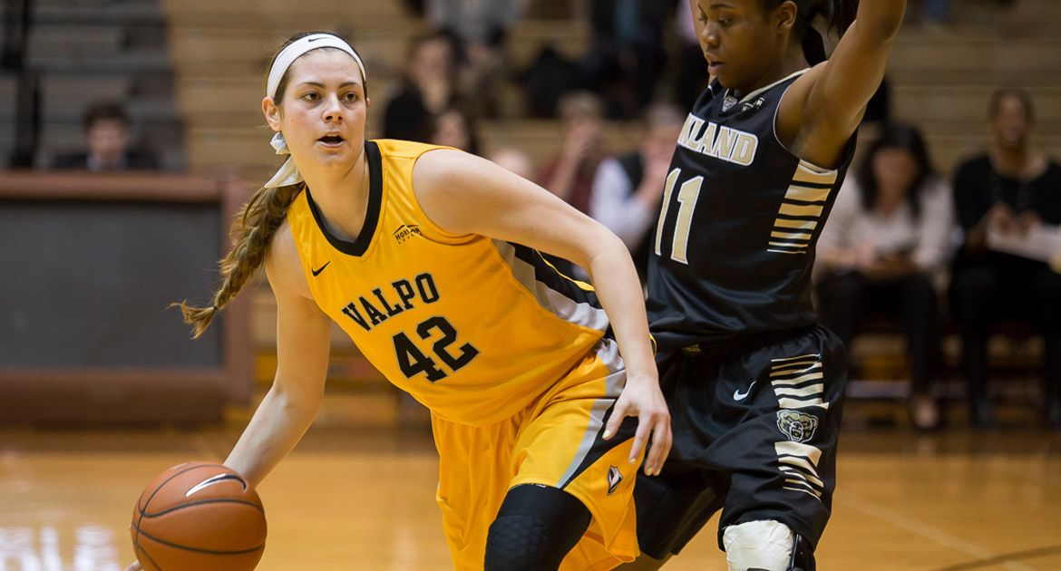 Perimeter Shooting Betrays Valpo in 71-54 Loss to Oakland