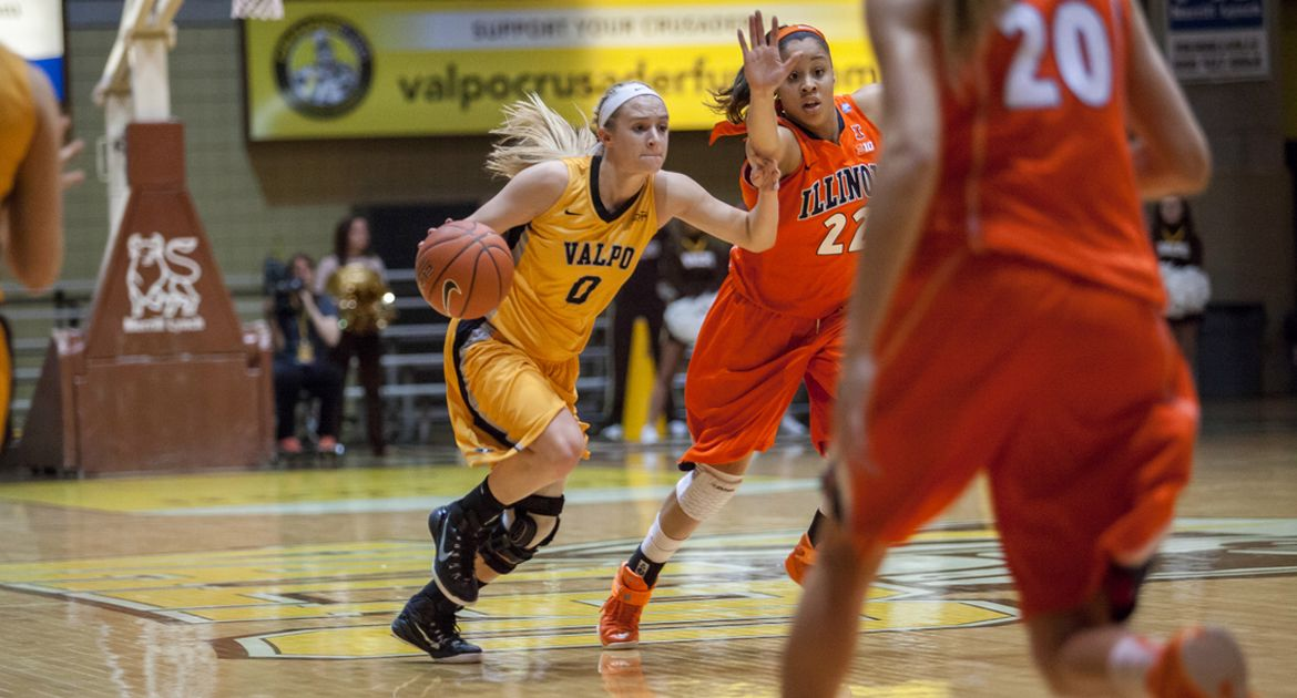 Strong Second Half Boosts Milwaukee Past Valpo