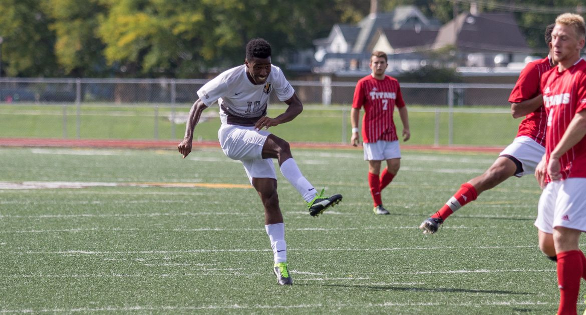 Men's Soccer Takes All Three Points at Belmont Saturday