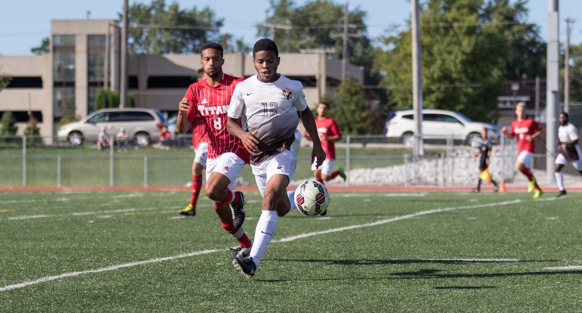 Men's Soccer Rolls to 3-0 Win at EIU Tuesday
