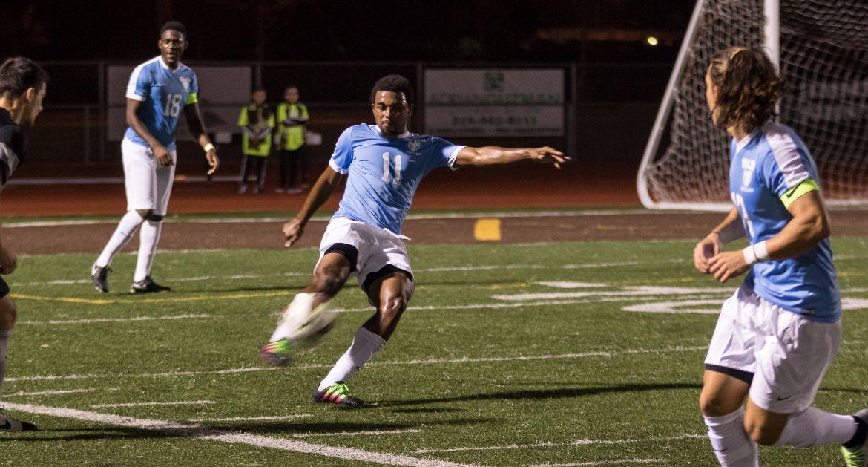 Anderson Scores in Brown Field Debut, Men's Soccer Knocks Off Oakland