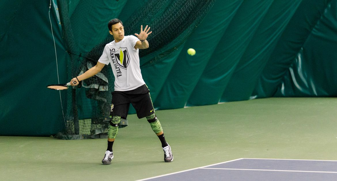 Bacalla Concludes Qualifying Singles Play on a Winning Note