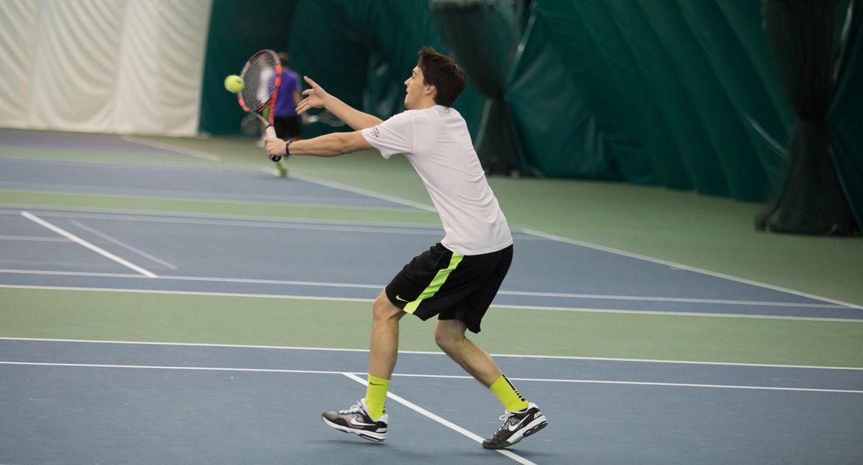 Green Bay Squeaks By Crusader Men's Tennis