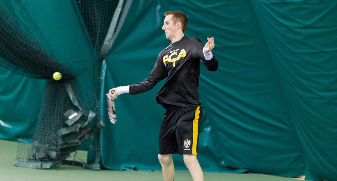 First Day of Fall Season in the Books for Men's Tennis