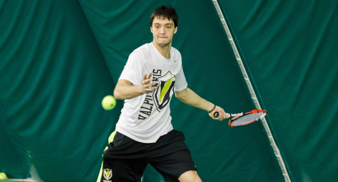 Schorsch/Emhardt Win Atop Doubles, but Crusaders Fall at #7 Illinois