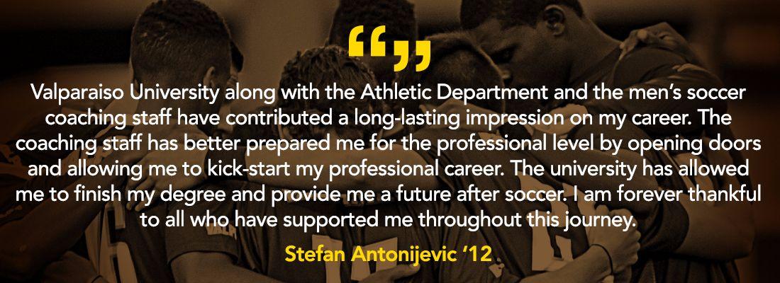 Mens Soccer Testimonial-Antonijevic