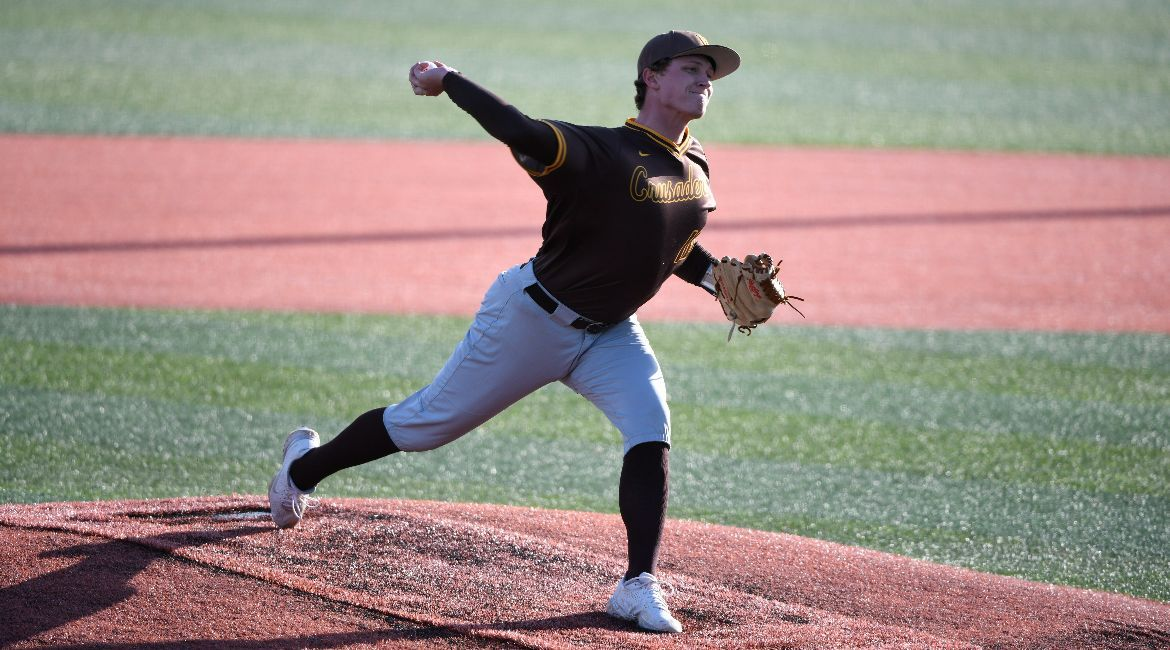 Baseball Edged by Nationally-Ranked Notre Dame