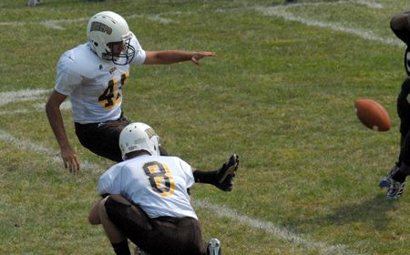 Football Hosts Carthage Saturday in Home Opener