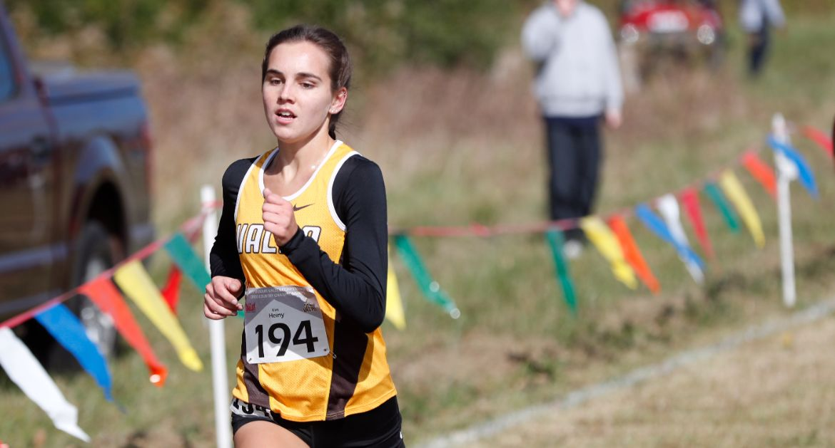 Valpo Cross Country Races at MVC Championships