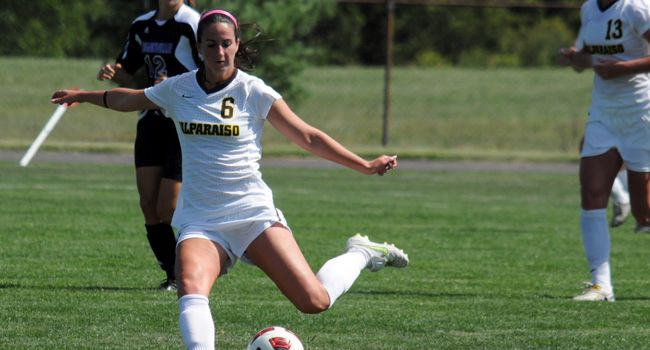 Valpo and IUPUI Battle to 1-1 Draw in Women's Soccer
