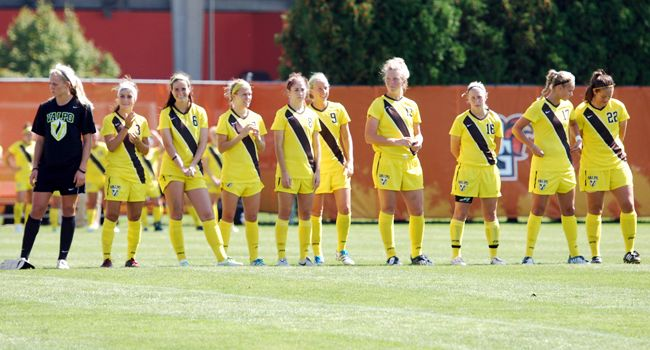 Women's Soccer Closes Regular Season at Youngstown State
