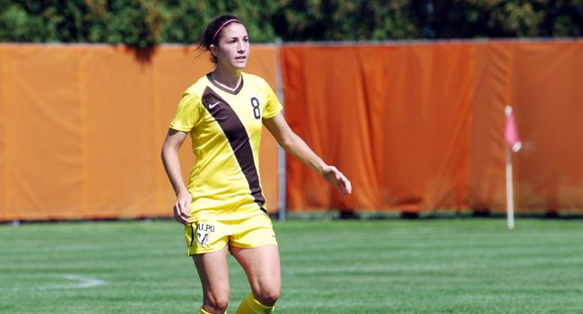 Women's Soccer Heads to Detroit Saturday
