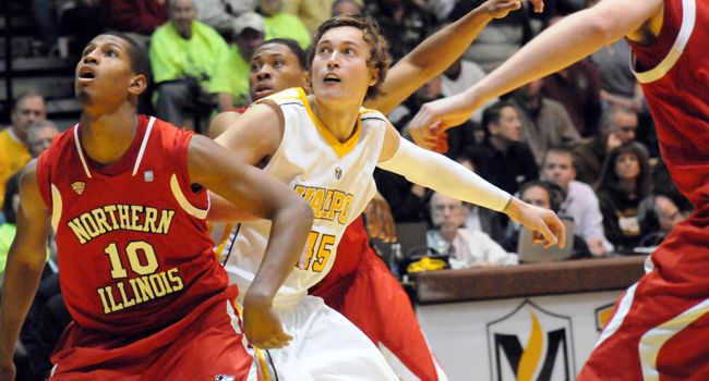 Crusaders Open Tuesday Morning With Victory Over NIU