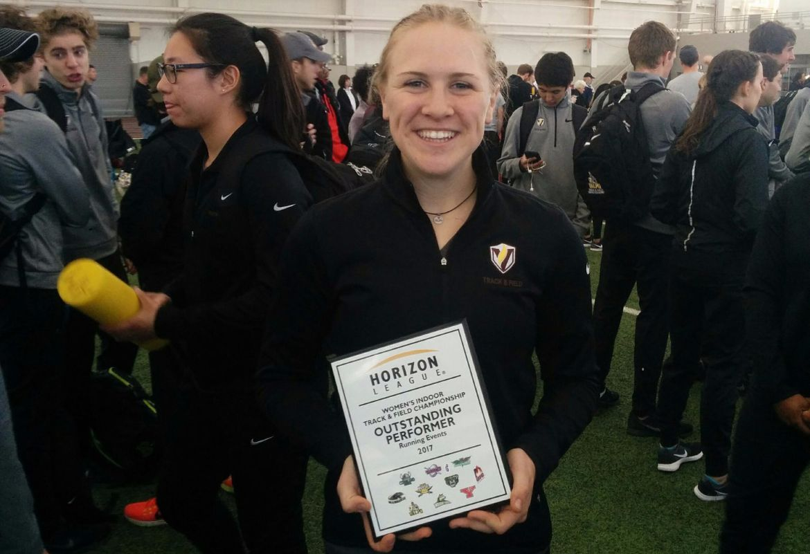 Crusaders Wrap Up Horizon League Indoor Championships