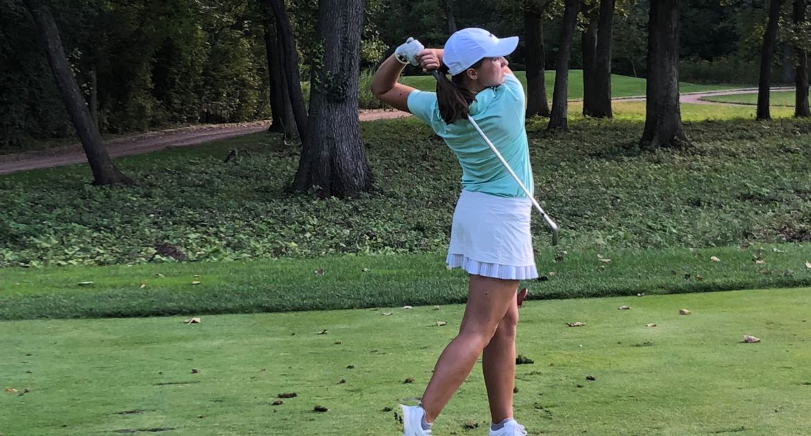 Hodson Leads Team on Final Day of Loyola Fall Invitational