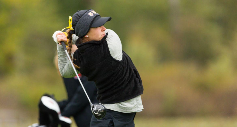 Seniors Shine as Women's Golf Tees Off Season
