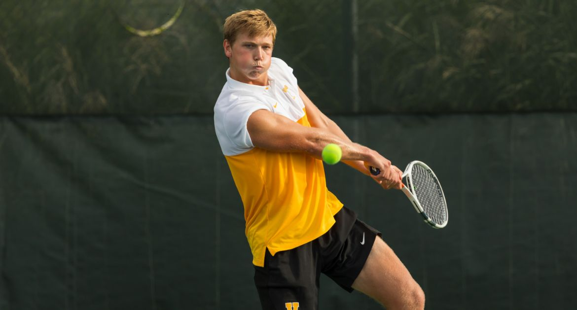 Men's Tennis Wraps Up Spring Trip with Defeat at No. 12 Texas A&M