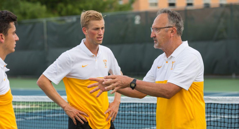 Men's Tennis Tabbed Third in Preseason Poll