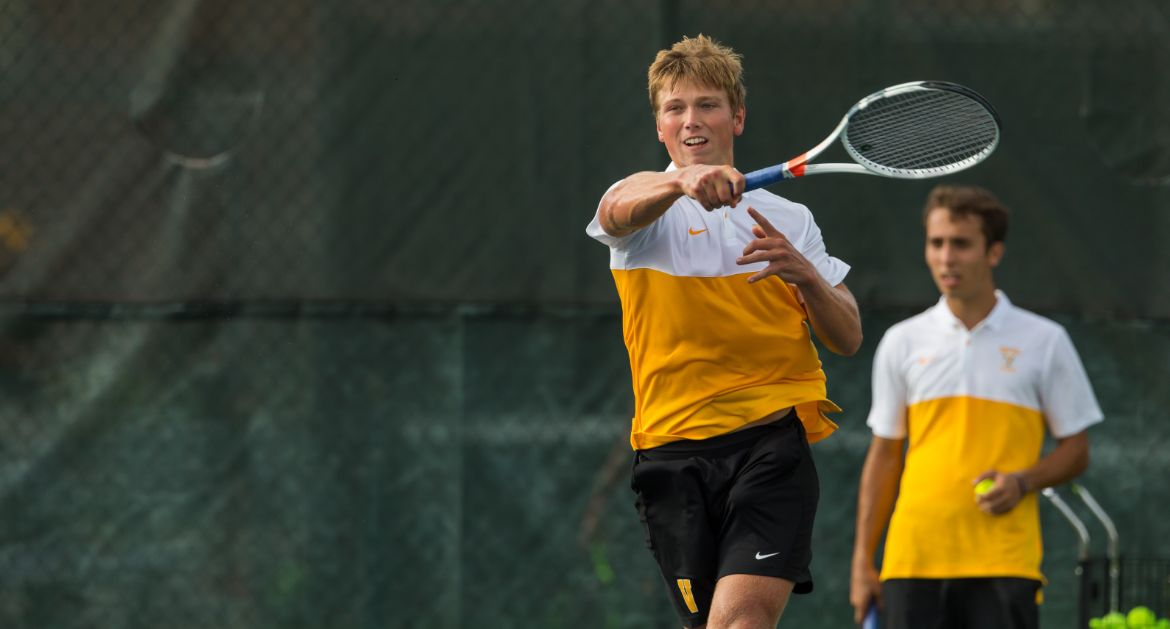 Men's Tennis Drops Tight Season Opener in Indianapolis
