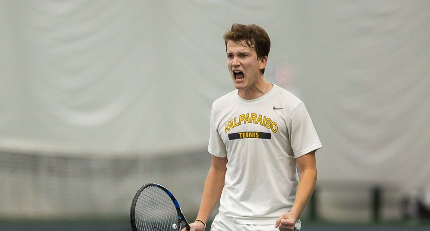 Men's Tennis Rolls to Road Win Over Chicago State
