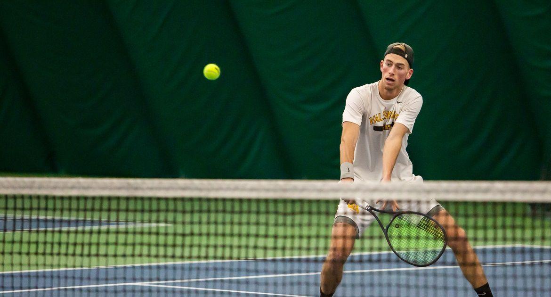 Men's Tennis Tops NIU to Cap Winning Weekend