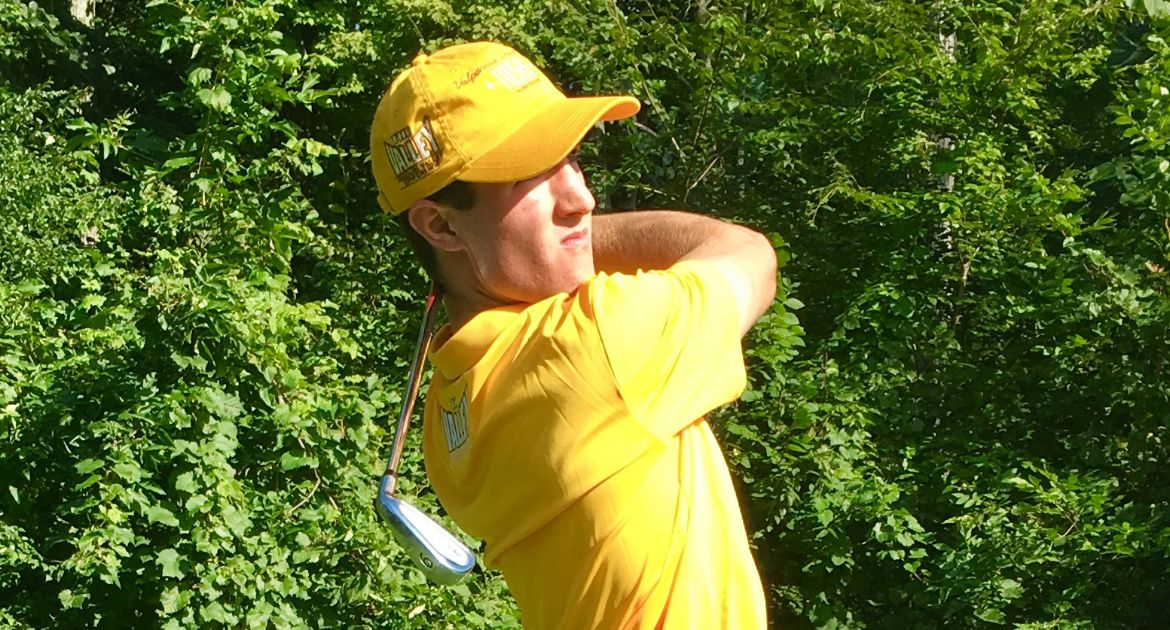 Men's Golf Jumps Two Spots on Final Day at Turning Stone