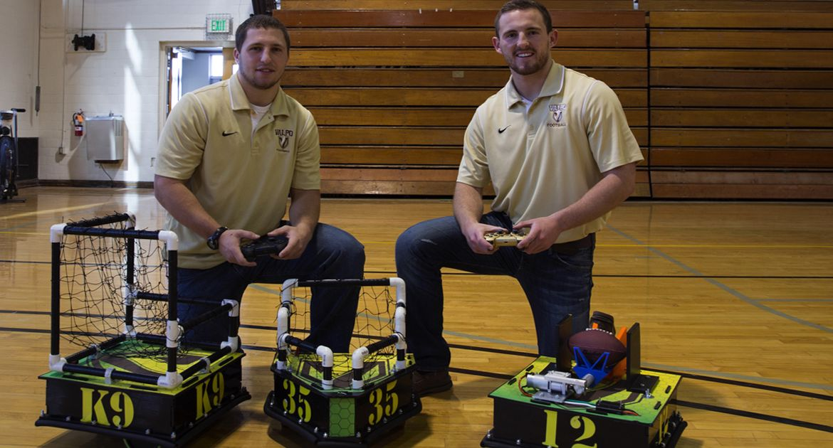 Champions in the Classroom: Robotic Football Touches Down in Valpo