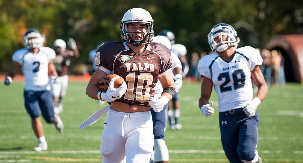 Crusaders Explode for 55 Points in Homecoming Rout