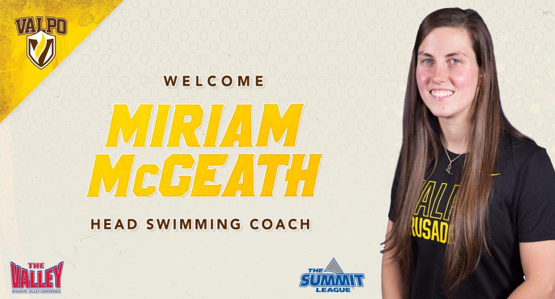 McGeath Selected to Lead Valpo Swim Programs