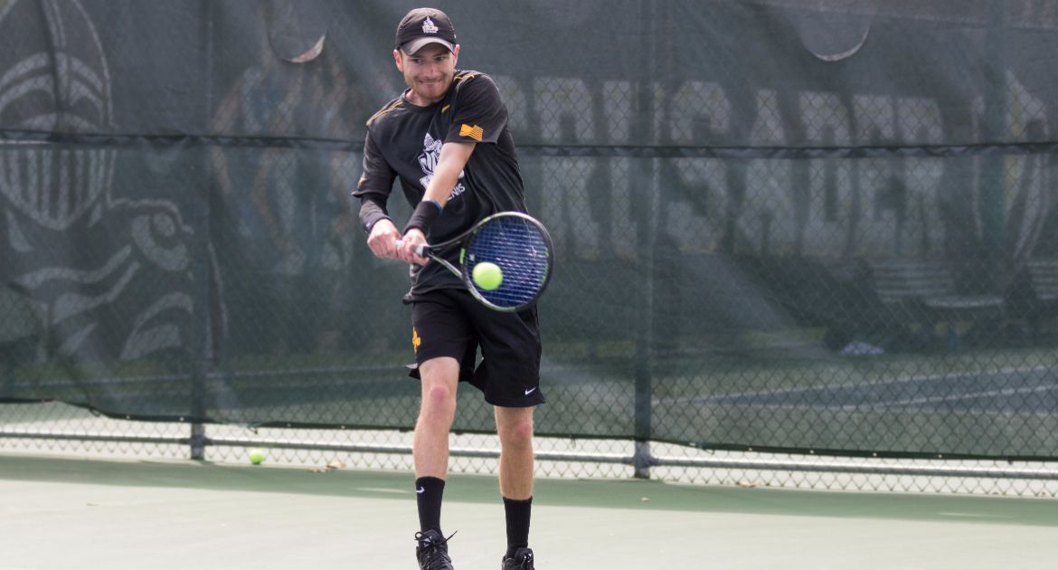 Langston, Pecyna Finish Perfect Weekends of Singles, Three Other Crusaders Prevail