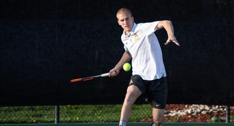 Men's Tennis Picked Third in Summit League Preseason Poll