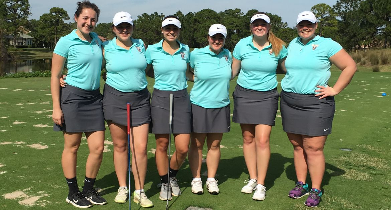 Women's Golf Tees Off Spring Season