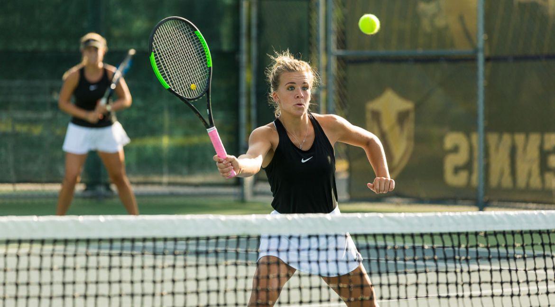 Women's Tennis Caps Winning Weekend at DePauw Invitational