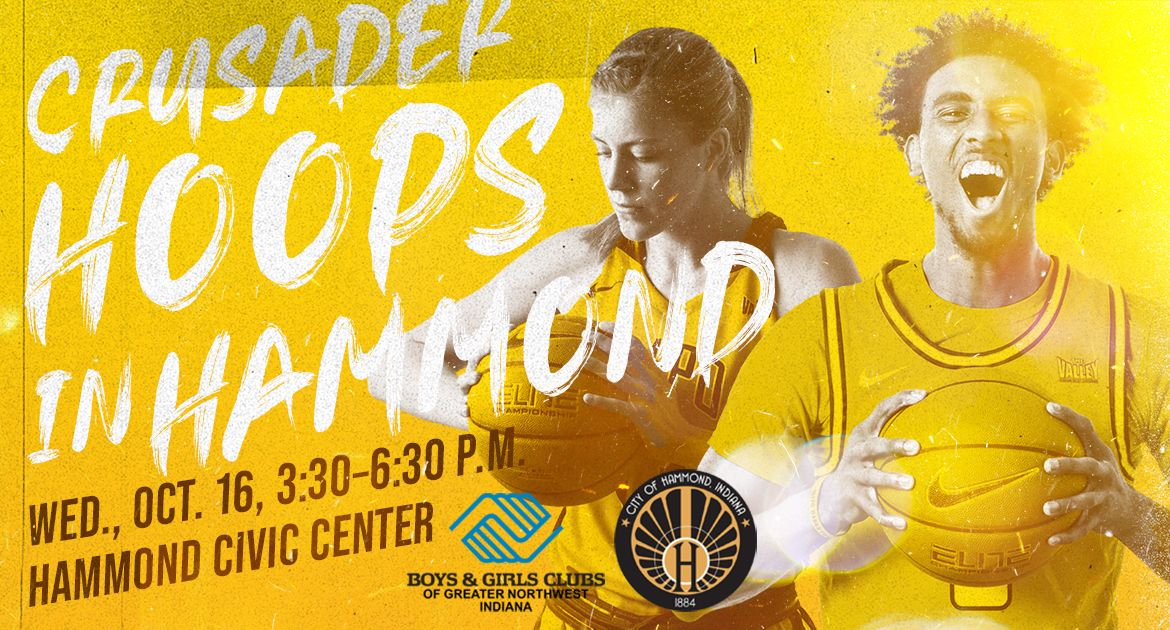 Valpo Basketball Teams to Hold 'Crusader Hoops in Hammond' Event
