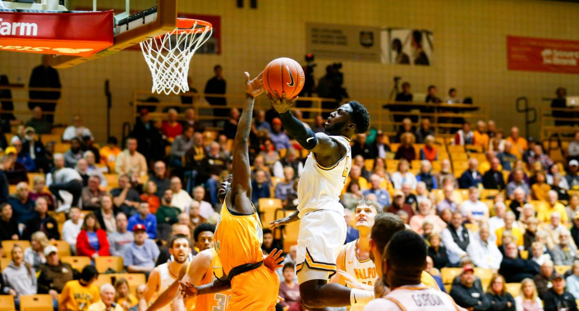 Sackey Posts Career Night in Defeat at Saint Louis