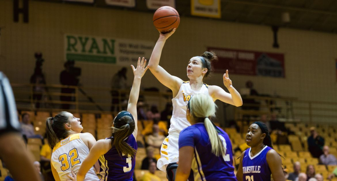 Six Crusaders Reach Double Figures as Valpo Dispatches Evansville