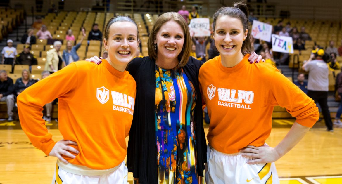 Donchetz, Franklin Honored on Senior Day at ARC