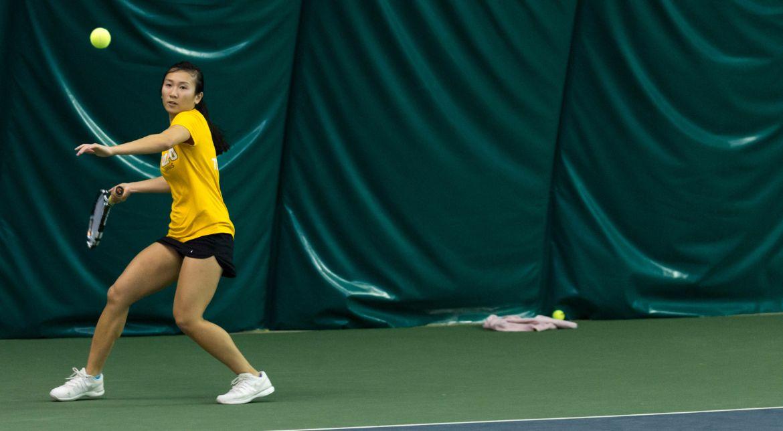 Women's Tennis Falls to Akron