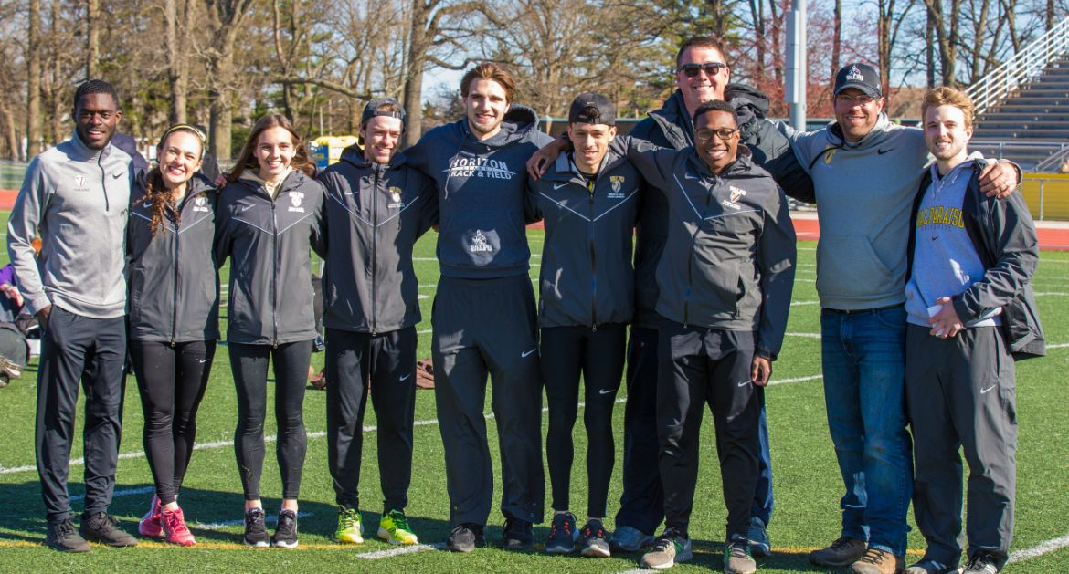Track & Field Enjoys Victorious Home Meet