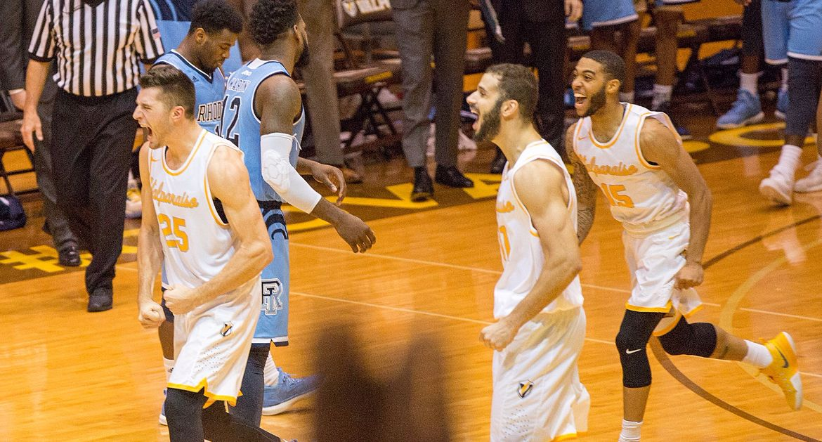 Crusaders Win Thriller Over Nationally-Ranked Rhode Island Tuesday